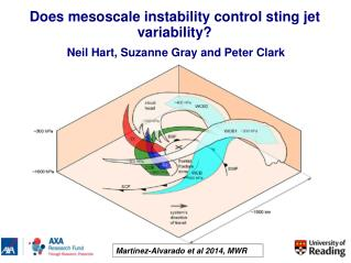 Does mesoscale instability control sting jet variability?