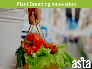 Biotechnology and Breeding Breeding