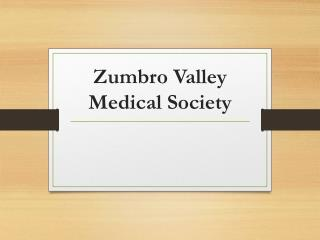 Zumbro Valley Medical Society