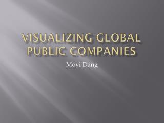 Visualizing global public companies