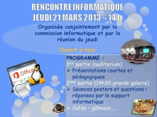 COMMISSION INFORMATIQUE