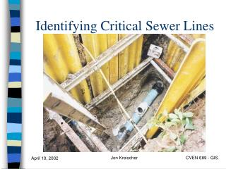 Identifying Critical Sewer Lines