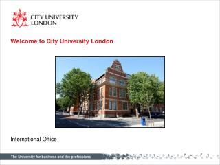 Welcome to City University London