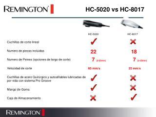 HC-5020 vs HC-8017
