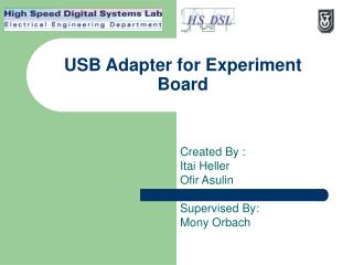 USB Adapter for Experiment Board