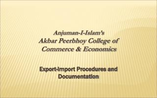 Anjuman-I-Islam's Akbar Peerbhoy College of  Commerce & Economics