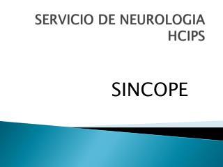 SERVICIO DE NEUROLOGIA HCIPS