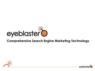 Comprehensive Search Engine Marketing Technology