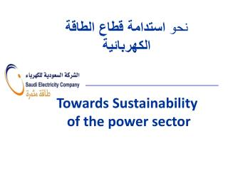 Towards Sustainability of the power sector