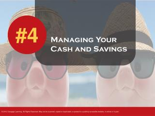 Managing Your Cash and Savings