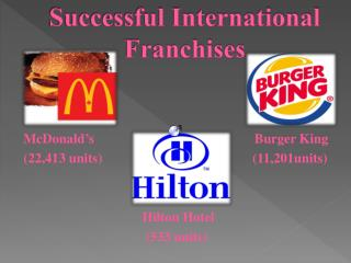 Successful International Franchises