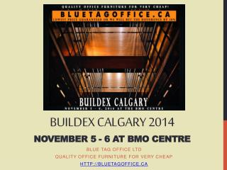 Office Furniture on SALE for BUILDEX Calgary Nov 5-6 2014