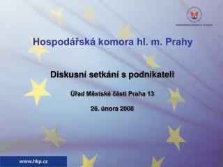 Hospodářská komora hl. m. Prahy