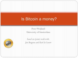 Is Bitcoin a money?
