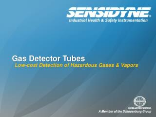 Gas Detector Tubes