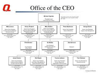 Office of the CEO