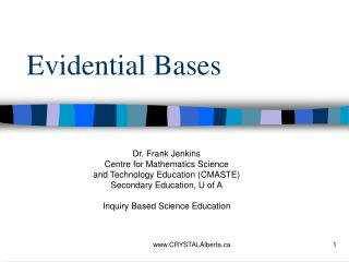 Evidential Bases