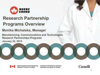 Research Partnership Programs Overview