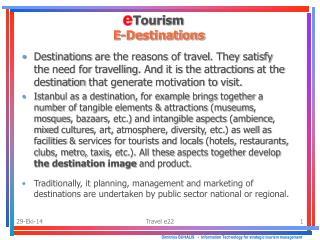 Dimitrios BUHALIS    -   Information Technology for strategic tourism management