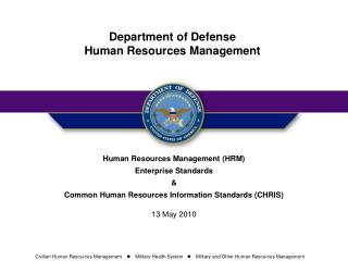 Human Resources Management (HRM) Enterprise Standards  &