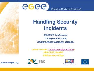 Handling Security Incidents