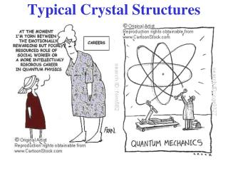 Typical Crystal Structures