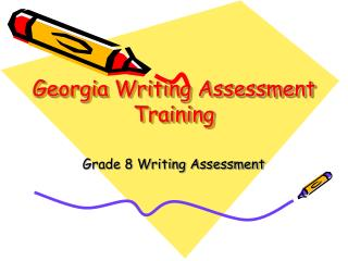 Georgia Writing Assessment Training
