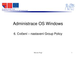 Administrace OS Windows