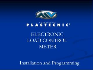 ELECTRONIC  LOAD CONTROL  METER
