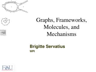 Graphs, Frameworks, Molecules, and Mechanisms