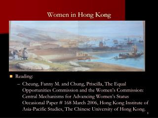Women in Hong Kong