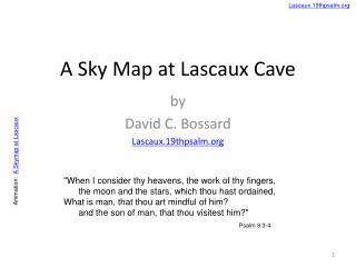 A Sky Map at Lascaux Cave