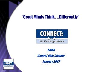 """Great Minds Think . . .Differently"""