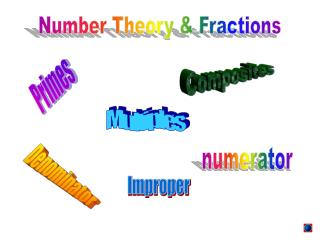 Number Theory & Fractions