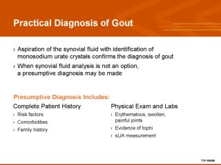 Practical Diagnosis of Gout