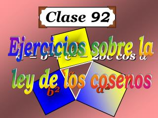 Clase  92