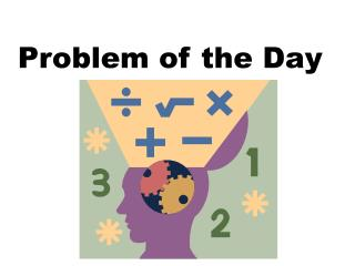 Problem of the Day