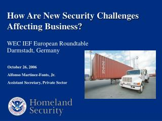 How Are New Security Challenges Affecting Business?