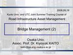 Bridge Management 2