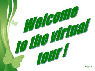 Welcome  to the virtual tour !