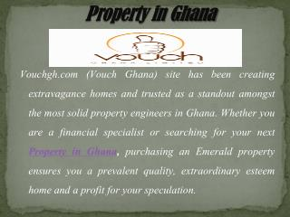 Coordination of Real Estate Services in Ghana