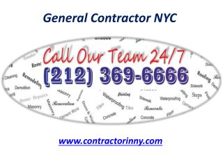 General Contractor NYC - Contractorinny.com