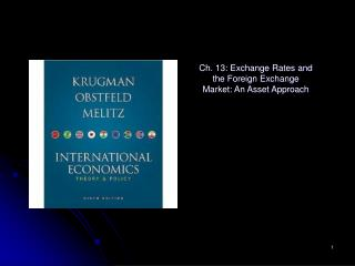 Ch. 13: Exchange Rates and the Foreign Exchange Market: An Asset Approach