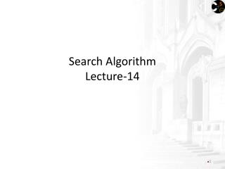 Search Algorithm Lecture-14