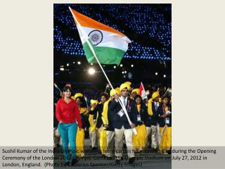 Olympics: Indian contingent greeted with huge cheers