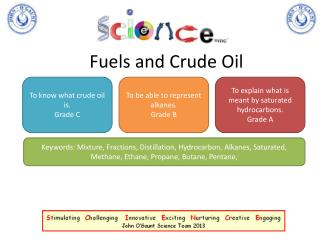 Fuels and Crude Oil