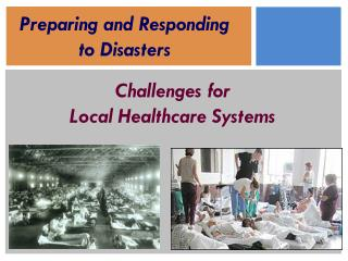 Challenges for  Local Healthcare Systems