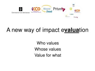 A new way of impact e valua tion