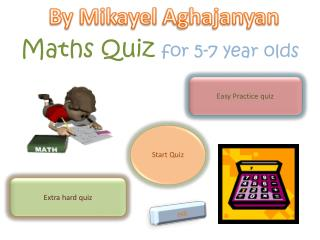 Maths  Quiz  for 5-7 year olds