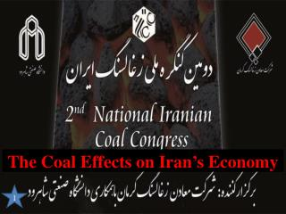 The Coal Effects on Iran's Economy